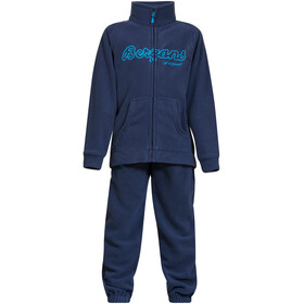 Bergans Smådøl Set Niños, navy/bright sea blue